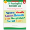 Scholastic Grade-4 240 Vocabulary Words Book Education Printed Book - Book