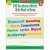 Scholastic Grade-5 240 Vocabulary Words Book Education Printed Book - Book