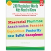 Scholastic Grade-6 240 Vocabulary Words Book Education Printed Book - Book