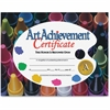 "Flipside Art Achievement Certificate - 11"" x 8.50"" - Laser Compatible - Assorted"