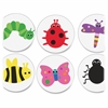 Hygloss Bugs Accents Border Strips - Bug - Water Resistant, Tear Resistant, Durable - Assorted - 30 / Pack