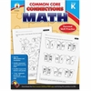 Carson-Dellosa Common Core Connections Grade K Math Workbook Education Printed Book for Mathematics - Book - 96 Pages