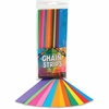 "Hygloss Non-gummed Bright Chain Strips - 180 Piece(s) - 1"" x 8"" - 1 Pack - Bright Assorted"