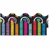 "Carson-Dellosa Colorful Chalkboard Scalloped Borders - Learning Theme/Subject - 13 Scalloped Border - 36"" Height x 2.25"" Width - Multicolor - 13 / Pack"