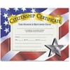 "Flipside Citizenship Certificate - 11"" x 8.50"" - Laser Compatible - Assorted"