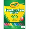 "Crayola Construction Paper - 12"" x 9"" - 500 / Pack - Assorted"