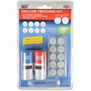 Consolidated Stamp Cosco Message Stamp Deluxe Teacher Kit - Message Stamp - Red, Blue - 1 Each