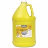Handy Art Little Masters Washable Tempera Paint Gallon - 1 gal - 1 Each - Yellow