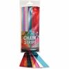 "Hygloss Non-gum Metallic Foil Chain Strips - 72 Piece(s) - 1"" x 8"" - 1 Pack - Assorted Metallic - Foil"