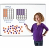 Learning Resources Kid Learning Magnetic Array - Theme/Subject: Learning - Skill Learning: Multiplication, Addition, Number - 52 Pieces - 7+