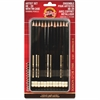 Koh-I-Noor 8B-2H Drawing Pencils Artist Set - 5B, 4B, 3B, 2B, B, HB, F, H, 2H, 3H, 4H, ... Lead Degree (Hardness) - 2 mm, 2.5 mm Lead Diameter - Graphite Lead - 12 / Set