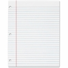 "TOPS The Legal Pad - 50 Sheets - Printed - Glue - College Ruled - Letter 8.50"" x 11"" - White Paper - 12 / Pack"