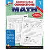 Carson-Dellosa Common Core Connections Grade 1 Math Workbook Education Printed Book for Mathematics - Book - 96 Pages