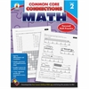 Carson-Dellosa Common Core Connections Grade 2 Math Workbook Education Printed Book for Mathematics - Book - 96 Pages