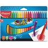 Helix Color'Peps PlastiClean Plastic Crayons - Assorted - 24 / Box