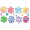 ChenilleKraft Snowflake Embossed Paper Set - 24 Piece(s) - 24 / Set - Paper