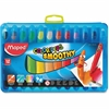 Helix Duo Color'Peps Smoothy Gel Crayons Kit - Assorted - 12 / Box
