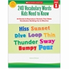 Scholastic Grade 1 Vocabulary 240 Words Book Education Printed Book for Science/Social Studies by Kama Einhorn - Book