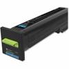 Lexmark Unison Original Toner Cartridge - Cyan - Laser - Standard Yield - 22000 Page