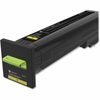 Lexmark Unison Original Toner Cartridge - Yellow - Laser - High Yield - 22000 Page