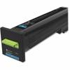 Lexmark Unison Original Toner Cartridge - Cyan - Laser - Standard Yield - 8000 Page