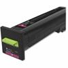 Lexmark Unison Original Toner Cartridge - Magenta - Laser - Standard Yield - 8000 Page