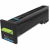 Lexmark Unison Original Toner Cartridge - Cyan - Laser - High Yield - 17000 Page