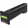 Lexmark Unison Original Toner Cartridge - Magenta - Laser - High Yield - 17000 Page