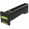 Lexmark Unison Original Toner Cartridge - Yellow - Laser - High Yield - 17000 Page