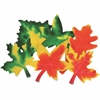 "Roylco Color Diffusing Paper Leaves - 9"" x 7"" - White Paper - 80 / Pack"