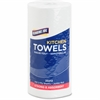 "Genuine Joe 250-sheet Perforated Roll Towels - 2 Ply - 8"" x 11"" - 250 Sheets/Roll - White - Paper - Perforated, Chlorine-free - For Kitchen - 12 / Carton"