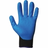 Jackson Safety G40 Nitrile Coated Gloves - Nitrile Coating - 7 Size Number - Small Size - Blue - Washable, Silicone-free - For Automobile/Aviation Industry, Metal Handling, Glass Handling, Wood Handli