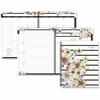 At-A-Glance Monique Wirebound Planner - Julian - Monthly, Weekly, Daily - January 2017 till December 2017 - 1 Week Double Page Layout - Wire Bound - Assorted - Reference Calendar, Bleed Resistant