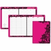 """At-A-Glance Madonna Lace Full Size Appointment Book - Julian - Weekly, Monthly, Daily - 1.1 Year - January 2017 till January 2018 - 7:00 AM to 8:00 PM - 1 Week, 1 Month Double Page Layout - 8.50"""" x 11"""