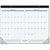 At-A-Glance 2-month View Calendar Desk Pad - Julian - Daily, Monthly - 1.1 Year - January 2017 till January 2018 - 2 Month Single Page Layout - Desk Pad - Black - Reference Calendar, Compact
