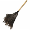 Impact Products Economy Ostrich Feather Duster - 12 / Carton - Ostrich Feather - Brown, Gray