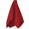 "Impact Products Red Microfiber Cleaning Cloths - Cloth - 16"" Width x 16"" Length - 144 / Carton - Red"