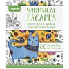 Crayola Whimsical Escapes Coloring Book Coloring Printed Book - Published on: 2015 - Softcover - 80 Pages