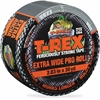 "T-REX Extra Wide Duct Tape - 2.83"" Width x 90 ft Length - Polyethylene, Cloth - 1 Roll - Silver"