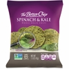 The Better Chip Spinach/Kale Chips - Gluten-free - Spinach & Kale - Bag - 1.50 oz - 27 / Carton