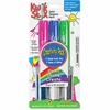 The Pencil Grip Kwik Stix Tempera Paint Create Pack - 6 / Each - Light Blue, Green, Blue, White, Silver, Pink