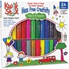 The Pencil Grip Tempera Paint 24-color Mess Free Set - 24 / Pack - Assorted, Neon, Metallic