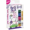 The Pencil Grip Kwik Stix Tempera Paint Metalix Sticks - 12 / Pack - Assorted, Metallic