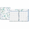 Blue Sky Large Wkly/Mthly Lindley Frosted Planner - Large Size - Julian - Weekly, Monthly, Daily - 1 Year - January till December - 2 Week, 2 Month Double Page Layout - Twin Wire - Multicolor, Frosted