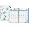 Blue Sky Small Wkly/Mthly Lindley Frosted Planner - Small Size - Julian - Weekly, Monthly, Daily - 1 Year - January till December - 2 Week, 2 Month Double Page Layout - Twin Wire - Multicolor, Frosted