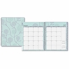 Blue Sky Rue Du Flore Large Frosted Planner - Large Size - Weekly, Monthly, Daily - 1 Year - January till December - 2 Month, 2 Week Double Page Layout - Twin Wire - Frosted, Multicolor - Tabbed, Writ
