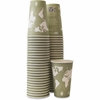Eco-Products Renewable Resource Hot Drink Cups - 12 oz - 500 / Carton - Sea Green - Polylactic Acid (PLA), Resin, Paper, Biopolymer, Plastic - Hot Drink, Coffee