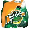 Perrier L'Orange Sparkling Mineral Water - Lemon, Orange Flavor - 16.91 fl oz - 24 / Carton