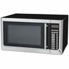 Avanti 1,000-watt Microwave - Single - 1.60 ft³ Main Oven - Electric Heat Source (Main Oven) - 10 Power Levels - Microwave - 1 kW Microwave Power - 120 V AC - 1000 W - Glass - Countertop - Black, Stai