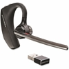 Plantronics Voyager 5200 Series Bluetooth Headset - Mono - Black, Chrome - Wireless - Bluetooth - 98 ft - Behind-the-ear - Monaural - In-ear - Yes